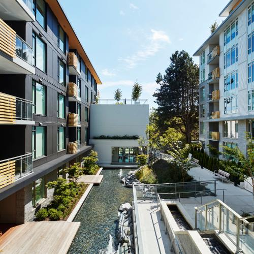 Commercial water features in Burnaby, Vancouver & British Columbia